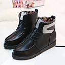 botas cortas de invierno cordón de la moda de las mujeres chaw pa-118