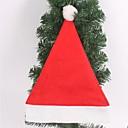 adornos para árboles de navidad sombrero de la Navidad no tejida