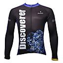 ropa de ciclismo de manga larga de los hombres paladinsport (superior)
