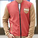 Fuleisi Mens Fashion Stand Collar Sweatershirts