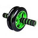 17cm equipos silenciosa rueda abdominal abs doble rueda abdomen gimnasio multifuncional (color al azar)