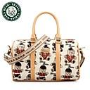 DAKA BEAR Canvas Casual Fashion Handbags Trendy Shoulder Messenger Bag