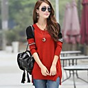 Womens Round Collar Casual Sweater