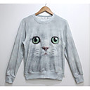 Cranberry Mens Fashion 3D Print Long Sleeve Fleece Tshirt 805
