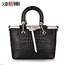 Huo di The new personalized color cowhide exquisite hit crocodile Shoulder Bag Handbag