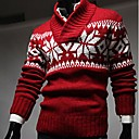 Mens Turtle Neck  Casual Snow Sweater