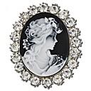 broche magos elegancia temperamento moda regalo de diamantes de imitación de la vendimia