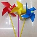5pcs 20cm colorido cuatro esquinas niños juguetes molino de viento
