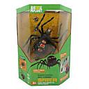 juguetes rc control remoto negro viuda araña modelos animales de juguetes de la ciencia la educación de la primera infancia