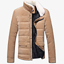 Fuleisi Men's Fashion Corduroy  Coat