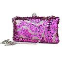 Colormoon Womens Elegant Sequin Evening Bag Clutch Bag