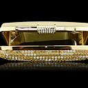 bolso de noche elegante de las señoras SexyLady 1113e amarillo 16.5  8  4cm