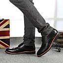 2014 nuevos hombres de ocio de moda los zapatos bajos de la ayuda de los hombres Haopeng 128 negro