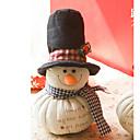 12 pulgadas de regalo de Navidad de Papá Noel con el sombrero, ropa de cama
