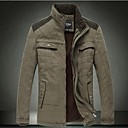 Mens Casual Cotton Padded Jacket