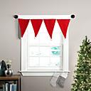 """36 """"W x 16"""" L - ventana sombrero cenefa decoración de la Navidad"""