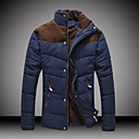 City Men's Casual Basic Fashion Soft Cotton Coat