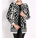 abrigos chaqueta de punto tejido de punto de la mujer Ricci