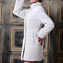 yifulu abrigos de piel de cuello alto manga larga de la manera delgada del temperamento elegancia