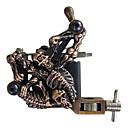 1pc bobina de hierro fundido de la máquina esqueleto tatuaje de línea y sombreado