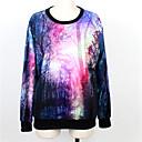 Weige bosque suéter de impresión wy1009 de las mujeres