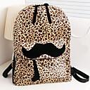 bolsa de leopardo de las mujeres m-mar