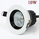 10w 900lm llevados mazorca blanco / blanco cálido de luz de la lámpara del techo llevó las luces del punto ac85-265v
