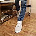hombre fresco altos zapatos planos coreano
