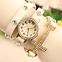 Sa Sa Women's All Match Diamond Genuine Leather Watch