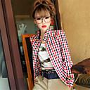 camisa de manga de soho mujeres coreano delgado largo