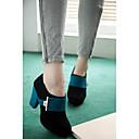causual del alto talón cómodo botas de plataforma temperamento de las mujeres winble