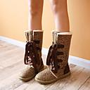 botas altas francis gato de la manera rodilla cordones de los zapatos de las mujeres 71-131