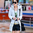 KICAI Womens Fitted Floral Print Down Coat