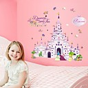 Wall Stickers Wall Decals, Fancy Castle PVC Wall Stickers