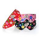 Pu Leather Floral Rhinestone Plum  Collars for Dogs and Pets(assorted colours and size)
