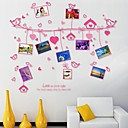 Odyssey Wall Stickers Wall Decals, DIY Romantic Photo PVC Wall Stickers.