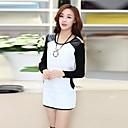 ? ? ™ 2014 nueva moda caliente de la venta de camisetas de terciopelo grueso camisa respaldo de las mujeres