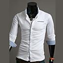 camisa de manga larga de color Luoyi contraste