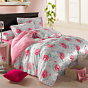 Nuanyan  Floral Print Warm Bedding Article Four Piece