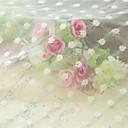 Qihang 40  40cm hermoso de encaje paño photography de fondo con patrón de flor de ciruelo blanco