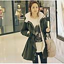 Aiwei abrigo de algodón mullido térmico de las mujeres