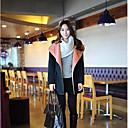 contraste ocasional abrigo wollen de color de Milu mujeres