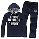 Fuleisi Men's Fashion Hoodie Suit