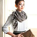 toda coincidencia de patrón de impresión colorido material suave bufanda de las mujeres de la margarita