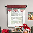 """50 """"W x 15"""" L - ventana cenefa Ascot decoración de la Navidad"""