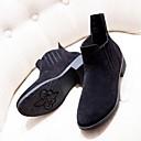 botas elásticas vendimia mimi color sólido 319-3