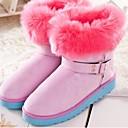 2014 el zorro de lana de conejo botas de las mujeres Enthone tubo corto botas femeninas zp35 algodón hebilla de cinturón