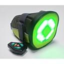 control remoto bikeman ™ llevó la luz de advertencia-up bolsa de sillín de bicicleta