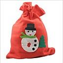 muñeco de nieve lindo bolso del regalo del modelo reina de la moda venus