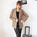 abrigo chaqueta delgada de las mujeres soho